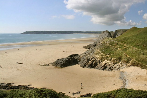 oxwich beach Escape the Crowds: Worlds Best Unspoilt Beaches