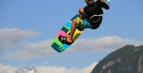 Featured kitesurfing