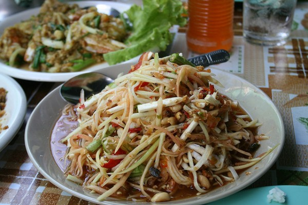 Som Tam e1345730406505 50 Foods to Try Before you Die