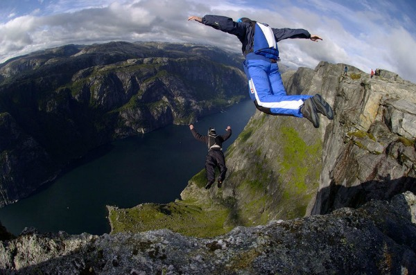 base jumping Top 10 Extreme Sports and Destinations